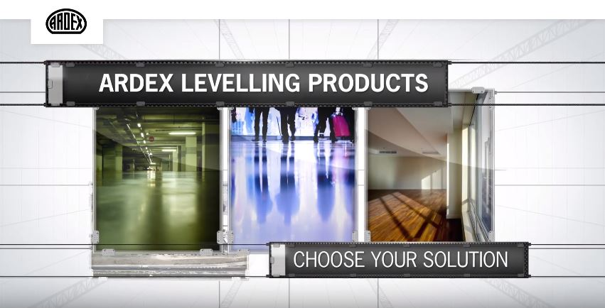 ARDEX Floor Leveling Product Range Video