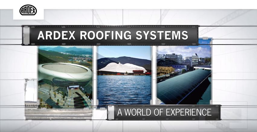 ARDEX Roofing Systems Video