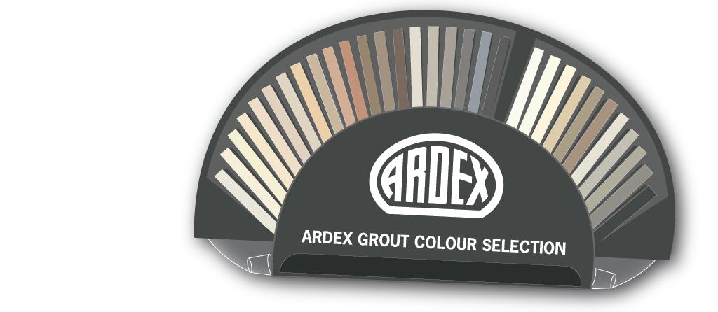 Grout colour selector