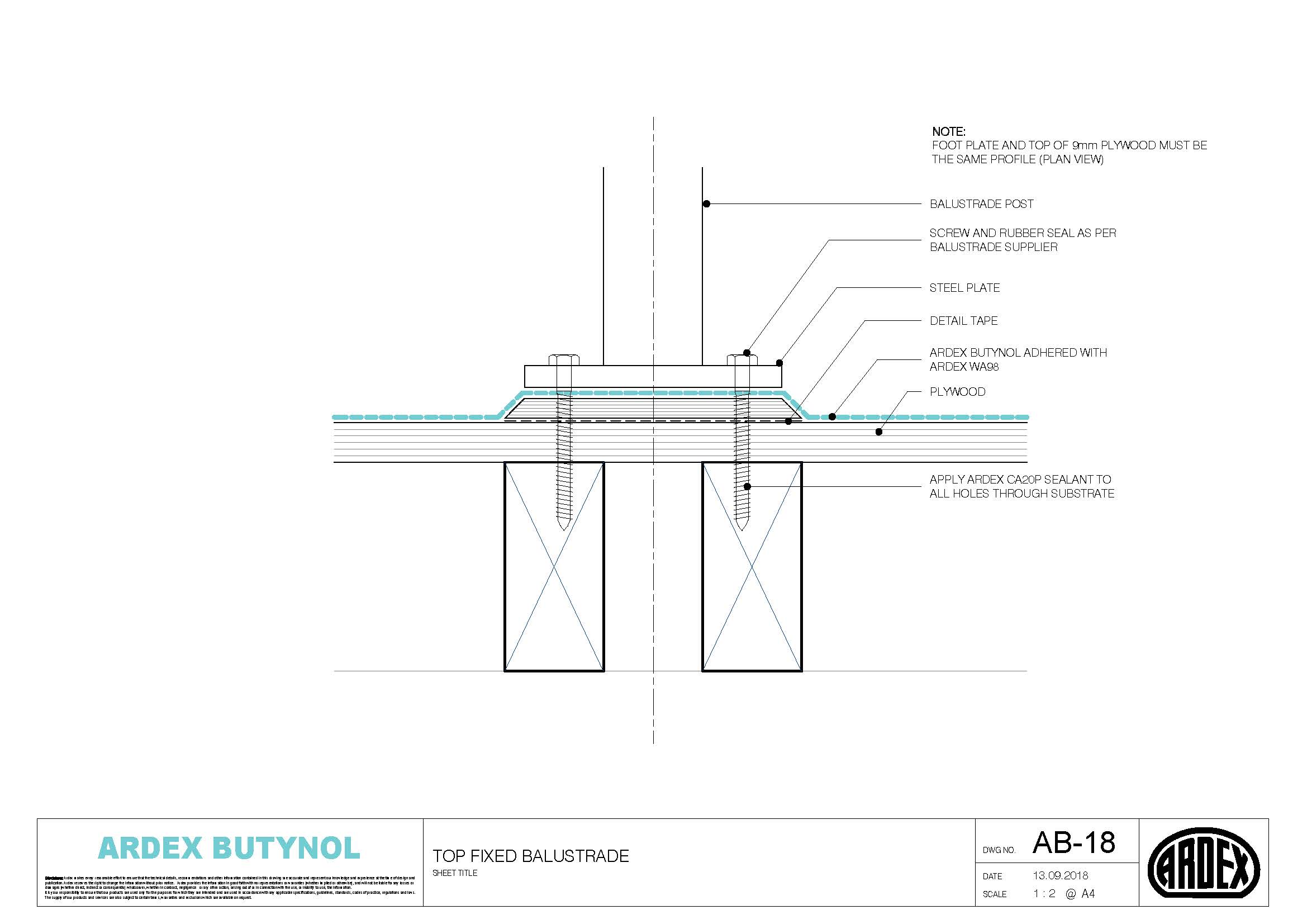 Butnol Technical Drawing