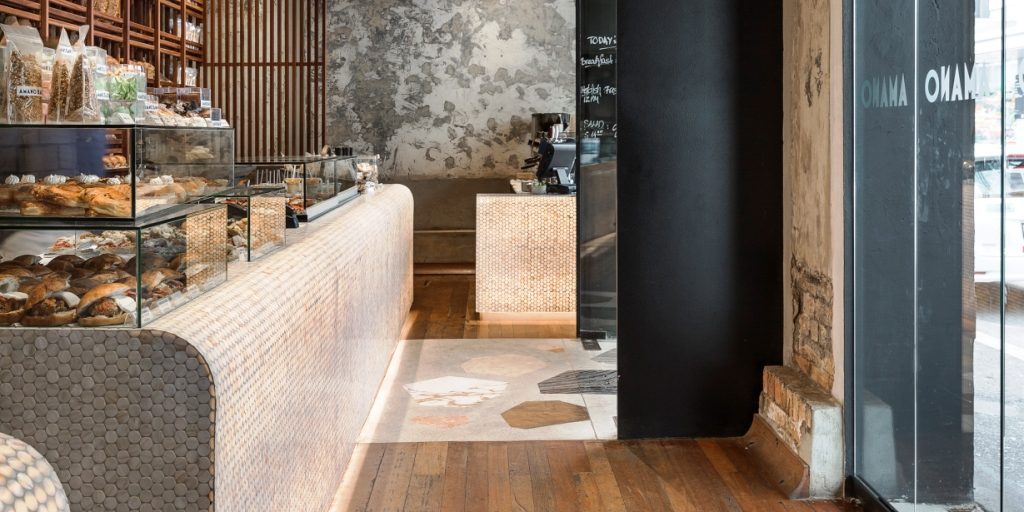Amano Restaurant ARDEX floor