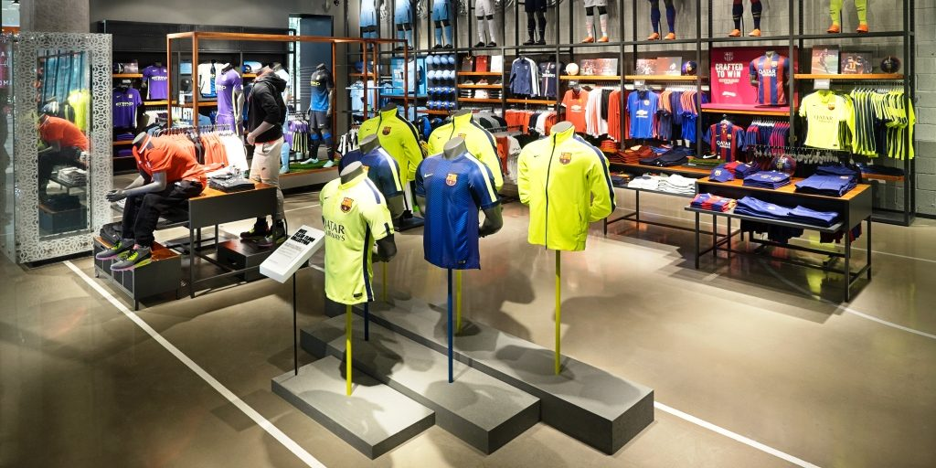 ARDEX Polished Concrete Nike Store