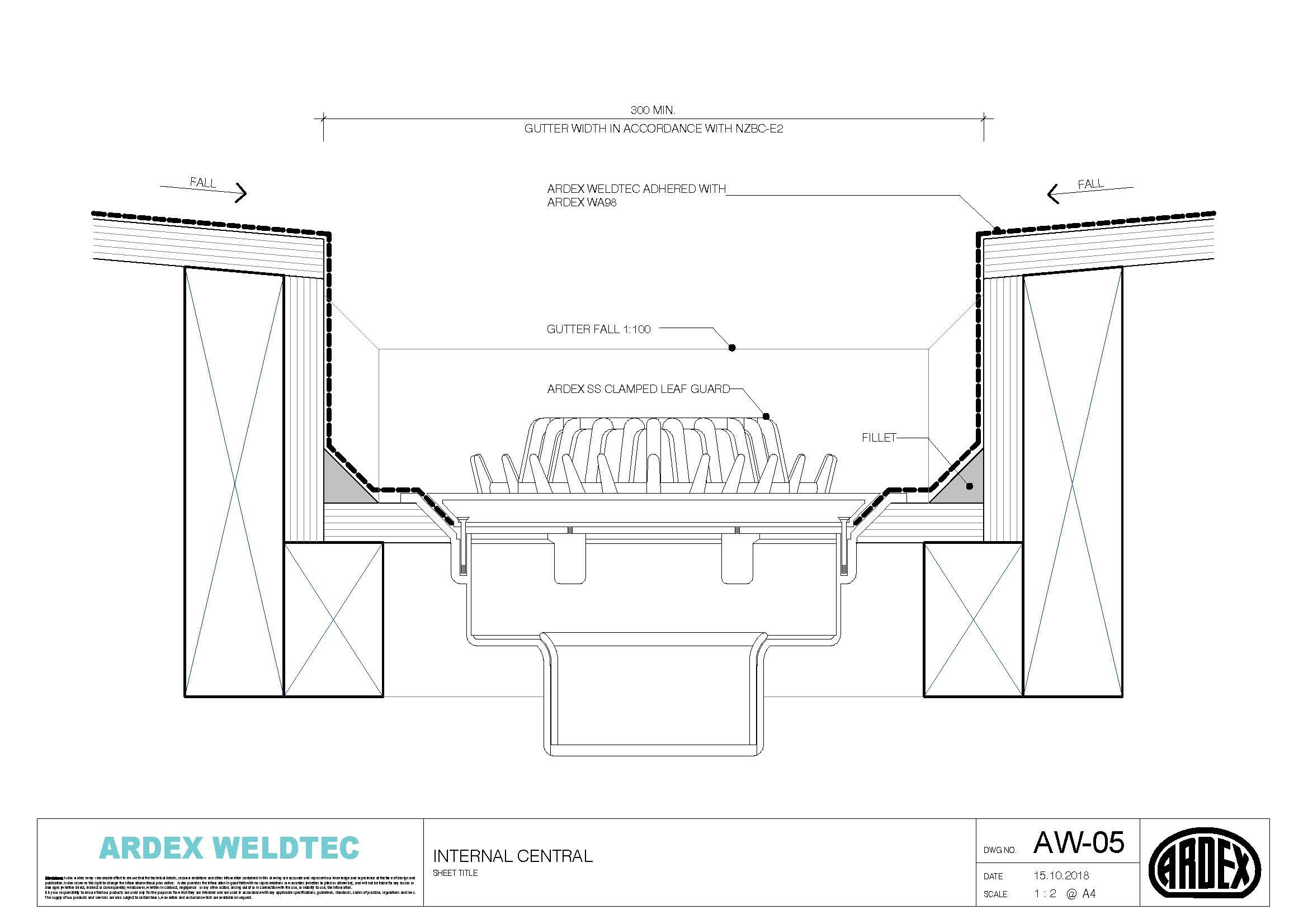 Weldtec internal central