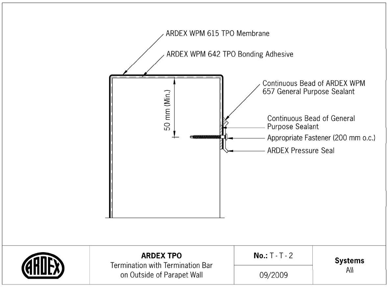 CAD Downloads - TPO Membranes - ARDEX New Zealand